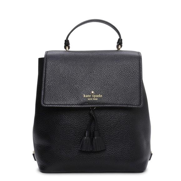kate spade Handbags - NWT Kate spade black Hayes Backpack